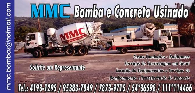 MMC BOMBA E CONCRETO USINADO