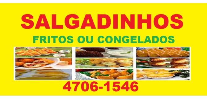SALGADOS CASEIROS